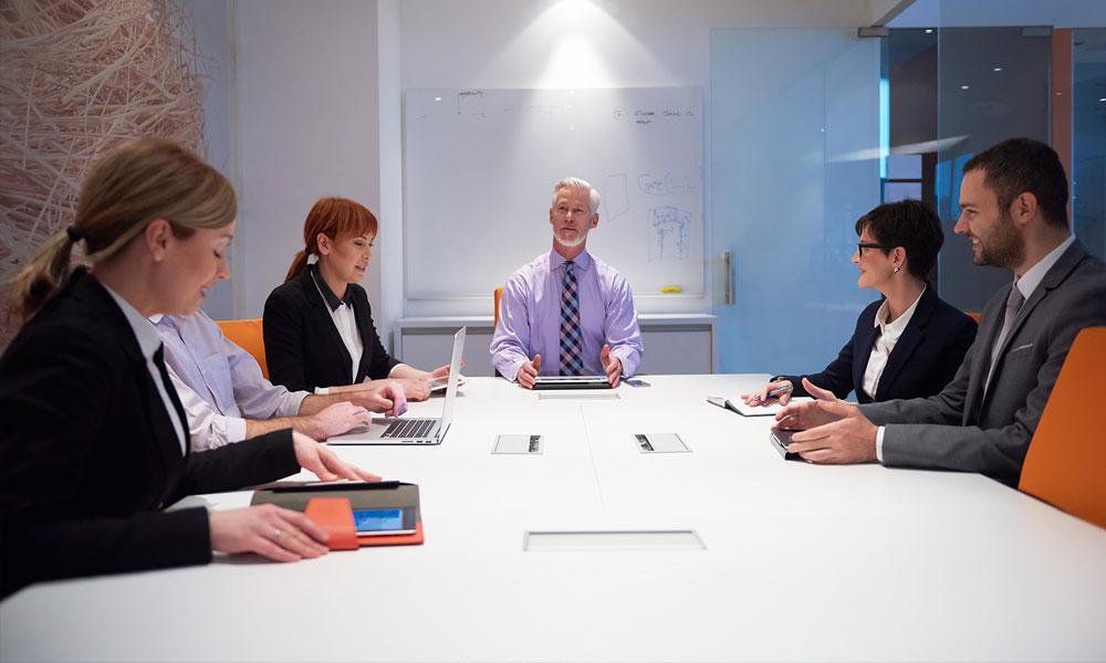 Boardroom meeting
